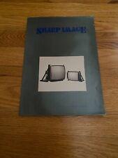 Sharp Image Electronics Manual