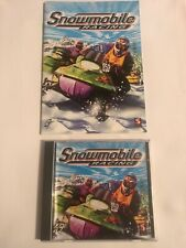 Vintage Snowmobile Racng PC Game Snow Mobile Winter Sport Game