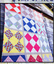 PATTERN - Point of View - pieced quilt mini PATTERN - Villa Rosa Designs