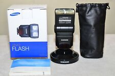 Samsung SEF42A  A-TTL  Auto External Flash Hot Shoe w/ Box ***Used Once***_MINT