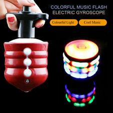 Spinning Gyro Spinner Laser LED Light Music Flash Light Kids Toy Christmas Gifts