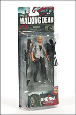 "ANDREA THE WALKING DEAD TV SERIES 4, 5"" ACTION FIGURE MCFARLANE TOYS"