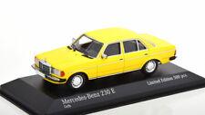 1:43 Minichamps Mercedes W 123 230E gelb 1982