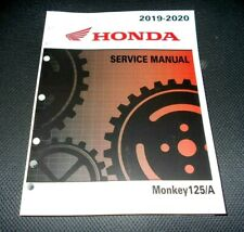 HONDA MONKEY 125 OEM SHOP,SERVICE REPAIR MANUAL BOOK,19-20, MOTORCYCLE SCOOTER