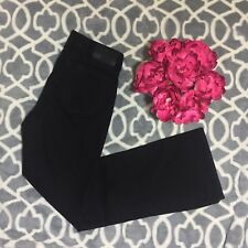 LRL LAUREN RALPH LAUREN BLACK Denim Classic Bootcut Jeans Size 2P