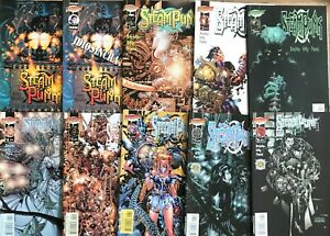 Steampunk Complete Series Chris Bachalo 1-12 SDCC Ashcan Preview Catechism NM