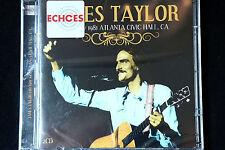 James Taylor Live at Atlanta Civic Hall 1981 2CD set New +  Sealed