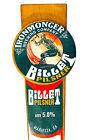Ironmonger Brewing Company Billet Pilsner Beer Tap Handle Surfing Blacksmith GA