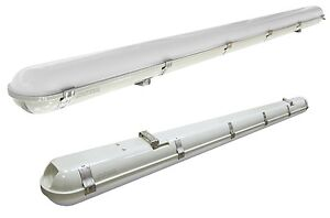 60W LED Batten Light 5ft Frosted Cover Triproof Fittng IP65 Replacement for T8