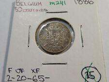 M241 Belgium 1886 50 Centimes