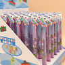 3-Color Cartoon Unicorn Ballpoint Pen Signature Writing School Office Stationery