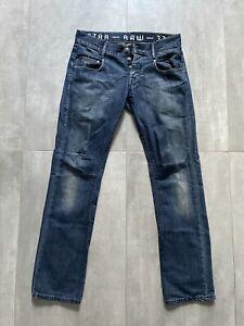 G STAR RAW Dark Denim Jeans Sz 34