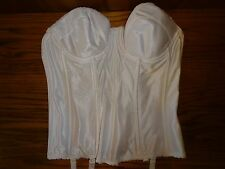 NEW WOMEN'S THE BRIDAL SHOPPE WHITE CORSET SIZE 36C MSP $62.00