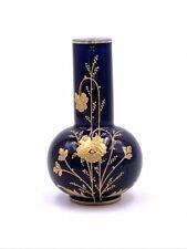 Petit vase porcelaine de Limoges émaillée Michelaud Antique little enameled vase