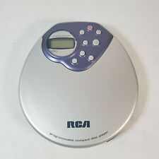 RCA RP-2400 Personal CD Player Tested Working Portable 2002 Programmable