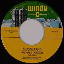 FIVE STAIRSTEPS: Playgirl's Love US WINDY C Northern Soul 45 Orig