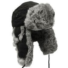 Gorra de hombre en color principal negro de piel