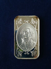 1974 World Wide Mint George Washington WWM-10 Silver Art Bar P0921