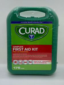 Curad Complete First Aid Essentials Kit 175 Items