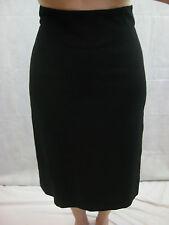 Claude Bert Size 38 (Aus 10) Black Pencil Skirt great work work or play!