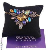 Collana donna oro Swarovski Elements originale G4Lov cristalli girocollo vintage