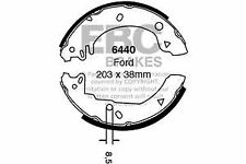 6440 EBC Rear Brake Shoes for FORD FORD  Fiesta Courier