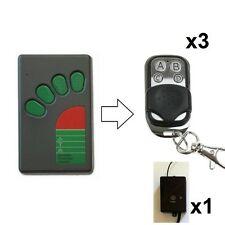 Automatic garage door kit fits ATA N1854 Tx-4a Tx-4 Remote Control Green Button