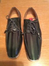 Men Shoes Expressions By RC Size 10 Green Strips With Gold Toe Guard
