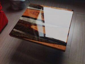Resina epossidica bi-componente trasparente pigmenti/ tessuti 320gr 800gr 1.6kg