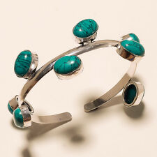 Turquoise 925 Silver Overlay Cuff/Bracelet Jewelry