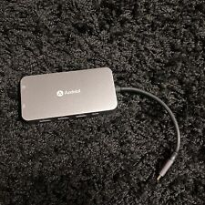 USB-C Hub, 9 in 1, USB, 4K HDMI,  Ethernet, SD-Karten-Leser. *Wie Neu!*