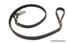 Made in USA Black Leather Tie Down SS Hardware Horse Tack Equine