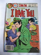 I Love You #125 1979 Charlton Comics Romance Comic