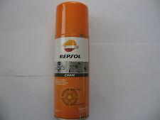 400ml Repsol Moto Chain Motorrad Kettenspray Kettenfett Spray Fett 1Li.=32,50€