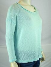 Cotton On Green Dolman Sleeve Boat Neck Sweater Womens Size Small 4 6