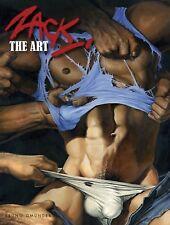 Zack: The Art Hardcover Book Arts & Photography/ Erotica/ Gay Comic/ RARE!