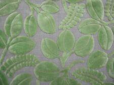 DESIGNERS GUILD  Savio Calaggio Lime green velvet new remnant