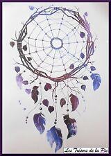 TATOUAGE TEMPORAIRE TATOO XXL - Body art - Dreamcatcher - Multicolore