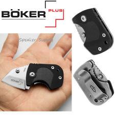 "Boker Plus DW-1 Folding Frame Lock Money Clip Knife Black Zytel 1"" Small 2160116"