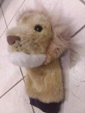 Lion Headcover Driver Golf Head Cover Plush Furry Hairy Douglas USA