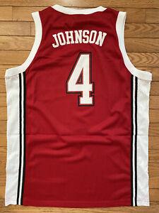 Nike Swingman Jersey NCAA 1990 UNLV Runnin' Rebels Larry Johnson Large New