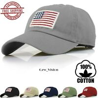 Polo Style America USA Flag Military Tactical Operator Baseball Hat Cap Trucker