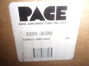 PACE  8886-0200 FUMEFLO WORKTABLE