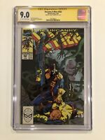 Uncanny X-Men #262 CGC 9.0 SS Chris Claremont 1990