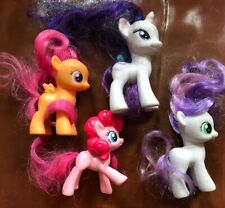 Lot Of 4 My Little Pony Figures Good Condition