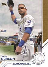 2017 Topps Series 2 Baseball Salute #S-107 Alex Gordon Royals