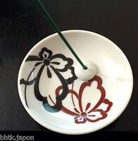 香皿 Porta Incenso Giapponese - Brucia Profumo 縁 Yukari Farfalle - Made in Japan