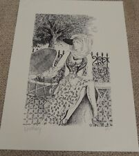 Victor Ostrovsky Giclee Print Unframed Untitled Limited Ed 12/75 Hand Signed