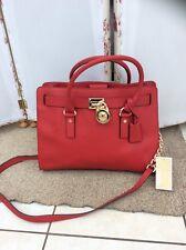 Stunning Michael Kors Hamilton Leather Satchel Handbag - BNWT (£310)