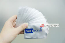 100x RFID Blocking Secure Credit Card Sleeves, RFID blocker protect your ID card